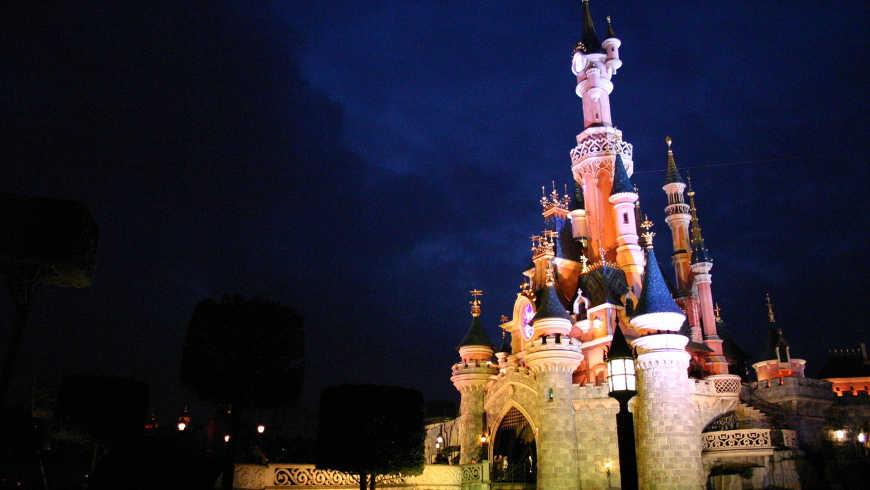 Avond in Disneyland Parijs