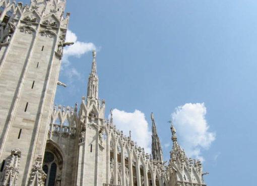De Dom in Milaan