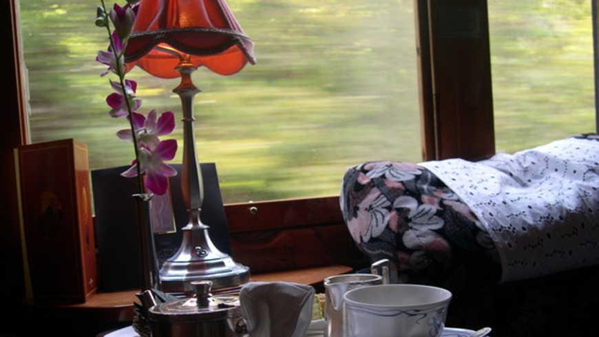 Reizen met de Orient Express
