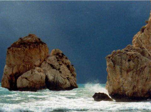 Rots van Aphrodite, Cyprus
