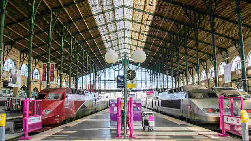 Thalys Parijs, Gare du nord
